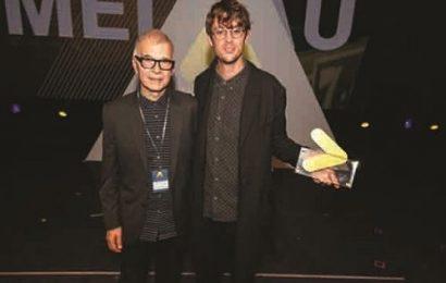 El músico sueco Albin Lee Meldau, ganador en los 'Anchor' 2016