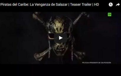 Primer trailer de 'Piratas del Caribe: La venganza de Salazar'