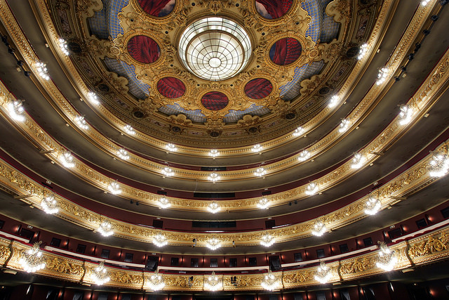 Prensa Gran Teatre del Liceu. foto: Jordi Pla