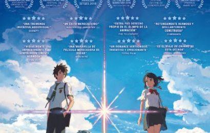 """El éxito de taquilla en Japón """"Your name."""" llega a nuestros cines el 7 de abril"""