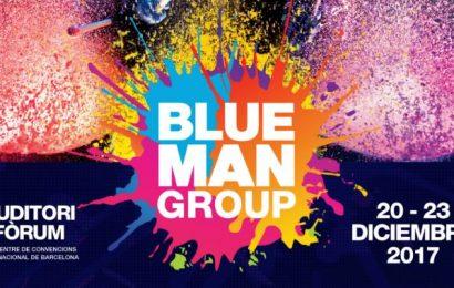 BLUE MAN GROUP visitará Barcelona en diciembre